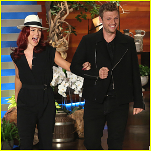 Nick Carter & Sharna Burgess Dance It Up On 'Ellen' Before DWTS Practice