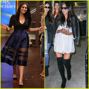 Shay Mitchell Reveals She Kinda Got Her Name From J.Lo! (Video)