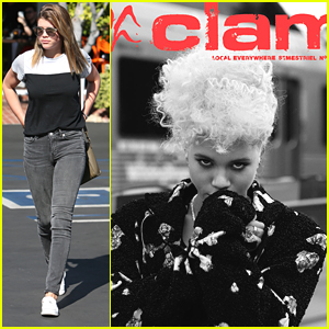 Sofia Richie Shares Stunning 'Clam' Magazine Cover