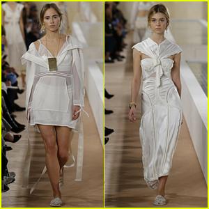 Suki Waterhouse & Nicola Peltz Are Balenciaga Beauties in Paris