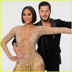 Tamar Braxton & Val Chmerkovskiy Re-create Janet Jackson's 'Rhythm Nation' on 'DWTS' - Watch Now!