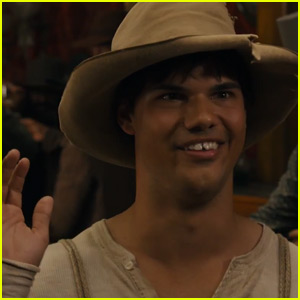 Taylor Lautner Sports Chipped Teeth in First 'Ridiculous 6' Trailer - Watch Now!