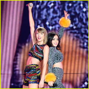 Taylor Swift & Charli XCX Team Up for 'Boom Clap' Duet in Toronto - Watch Now!
