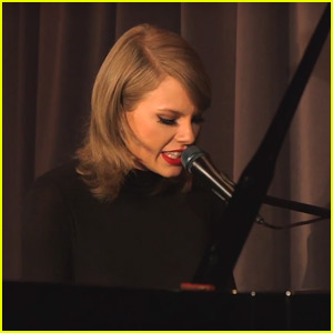 Taylor Swift Performs Piano Version of 'Out of the Woods' - Watch Now!