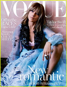 Taylor Swift Stuns on 'Vogue Australia' Cover!