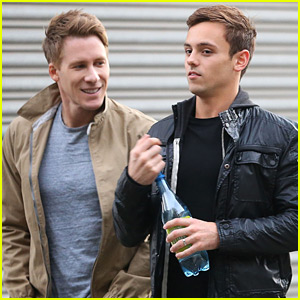 Tom Daley & Dustin Lance Black Step Out Together After Engagement News!