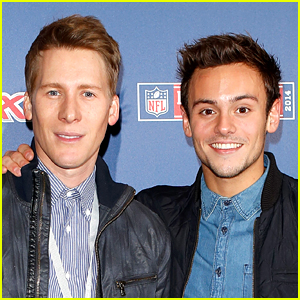 Tom Daley & Dustin Lance Black Reveal Who Prop