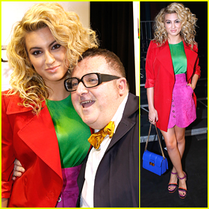 Tori Kelly Sits Front Row For Lanvin At Paris Fashion Week