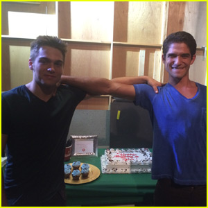 Tyler Posey Celebrates 24th Birthday on 'Teen Wolf' Set - See the Pics!