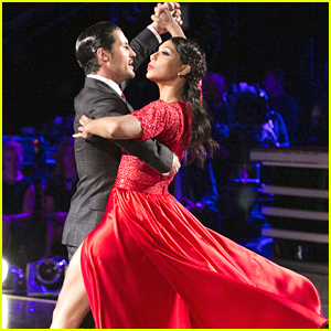 Tamar Braxton & Val Chmerkovskiy Fire Up A Red Hot Tango For 'DWTS'