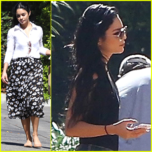 Vanessa Hudgens Wears Recycled Coffee Ground Jeans On Coffee Date With Austin Butler