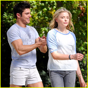 Zac Efron Films 'Neighbors 2' Scenes in Short Shorts Alongside Chloe Moretz!