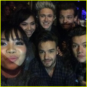 'X Factor UK' Finalists 4th Impact Meet One Direction!