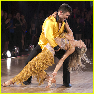 Alek Skarlatos Dines Out With Pals & Emma Slater After 'Dancing With The Stars' Dance Off