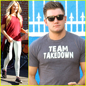 Alek Skarlatos Says He's 'Lucky' Lindsay Arnold Is His 'DWTS' Partner