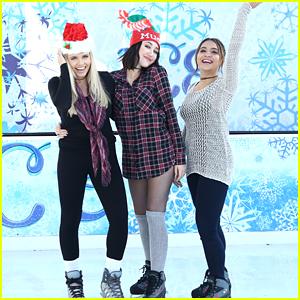 Alli Simpson, Noah Cyrus & Stella Hudgens Kick Off The Holidays With Mudd