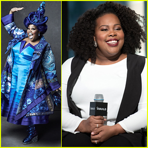 Amber Riley Transforms Into Addaperle For 'The Wiz Live' - See The Pics!