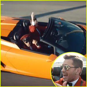 Andy Grammer Takes A Joy Ride In A Lamborghini In New 'Good To Be Alive' Video - Watch Now!