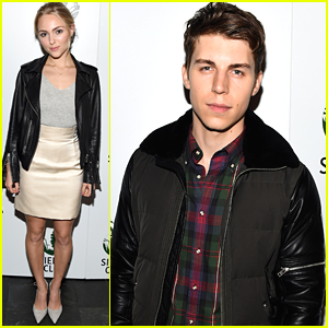 AnnaSophia Robb Hits The Sierra Club's 'Act In Paris' Event With Nolan Funk