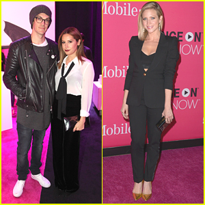 Ashley Tisdale & Brittany Snow Hit Up T-Mobile's Un-carrier X Launch Event