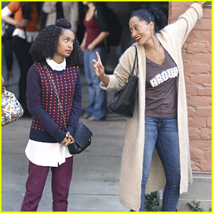 Zoey Gets Brown University Campus Tour From Bow on Tonight's 'black-ish'