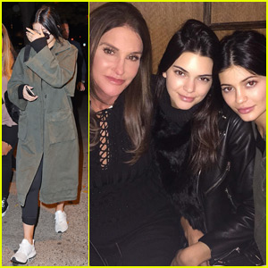 Kylie & Kendall Jenner Enjoy Dinner With Caitlyn in New York City!
