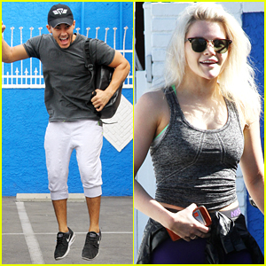 Carlos PenaVega & Witney Carson Get Ready For Three Dances on Tonight's DWTS
