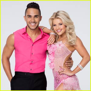 Carlos PenaVega & Witney Carson Argentine Tango to 'What Do You Mean?' on 'DWTS' - Watch Now!