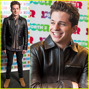 Charlie Puth Looks Dapper at the Radio Forth Awards 2015