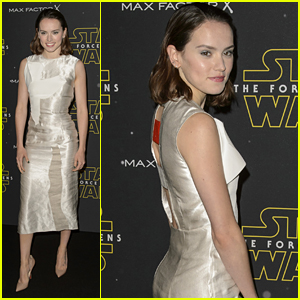 Daisy Ridley Reveals Whether or Not She's Seen Herself in the 'Star Wars' Yet