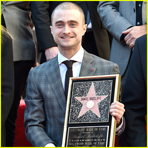 Daniel Radcliffe Gets Star On Hollywood Walk of Fame - Watch The Vid!