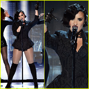 Demi Lovato's 'Confident' Performance at AMAs 2015 - Watch Now!