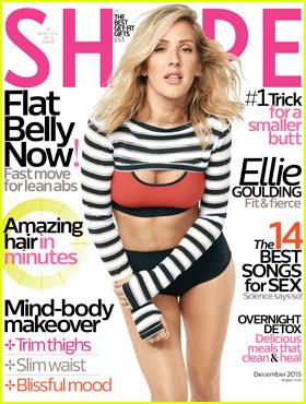 Ellie Goulding Calls Herself an 'Aspiring Vegan'