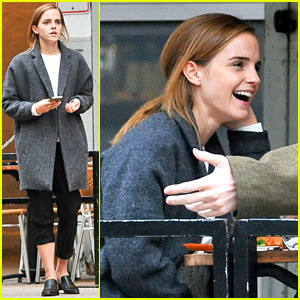 Emma Watson Shared a Super Cute 'Beauty' Halloween Pic