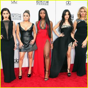 Fifth Harmony Slay AMAs 2015 Red Carpet!