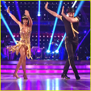 Georgia May Foote Earns Three 10's For Her Charleston on 'Strictly Come Dancing' - Watch Now!