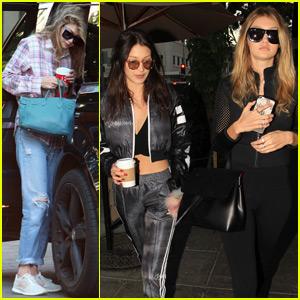 Gigi Hadid Grabs Lunch With Sister Bella After Zayn Malik Hangout