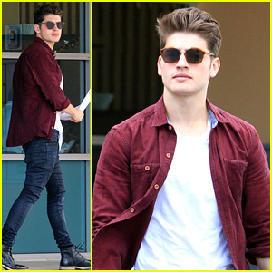 Gregg Sulkin Gets Fitness Inspiration From 80-Year-Old Man