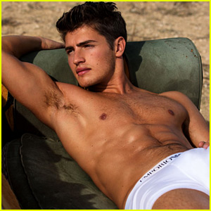 Gregg Sulkin's 'Flaunt' Shoot is His Hottest One Ever!