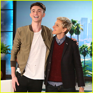 Greyson Chance Returns To 'Ellen' & Performs New Single 'Afterlife'
