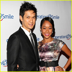 Shadowhunters' Harry Shum, Jr. & Girlfriend Shelby Rabara Are Married!