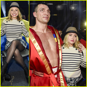 Hayden Panettiere Looks Happy & Healthy at Fiance Wladimir Klitschko's Fight!