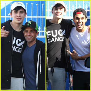 Hayes Grier Returns To DWTS Studio For Finale Practice