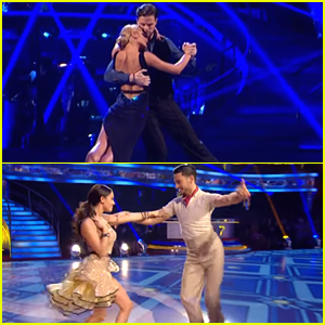 Jay McGuiness & Georgia May Foote Soar Up The Leaderboard On 'Strictly Come Dancing' Week 7