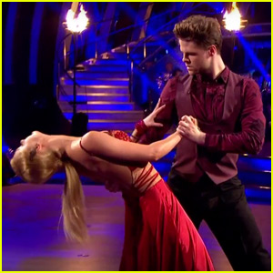 Jay McGuiness & Aliona Vilani Do an Impeccable Tango on 'Strictly Come Dancing' - Watch Now!