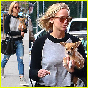 Jennifer Lawrence Steps Out in New York After Thanksgiving