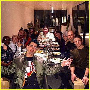 Nick Jonas Celebrates Thanksgiving with Big Bro Joe in Airbnb Rental