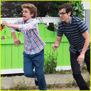 Joey Bragg & Sean Giambrone Makes One Hilarious Duo in 'Mark & Russell's Wild Ride'! (Exclusive Photos)