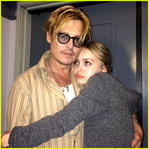 Lily-Rose Depp's Dad Johnny Is Proud of Her