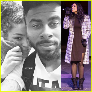 Jordin Sparks & Boyfriend Sage the Gemini Spend Thanksgiving Together!